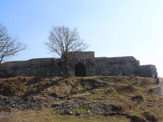 Fotografie: zřícenina hradu Blansko