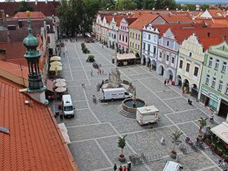 náměstí Třeboň